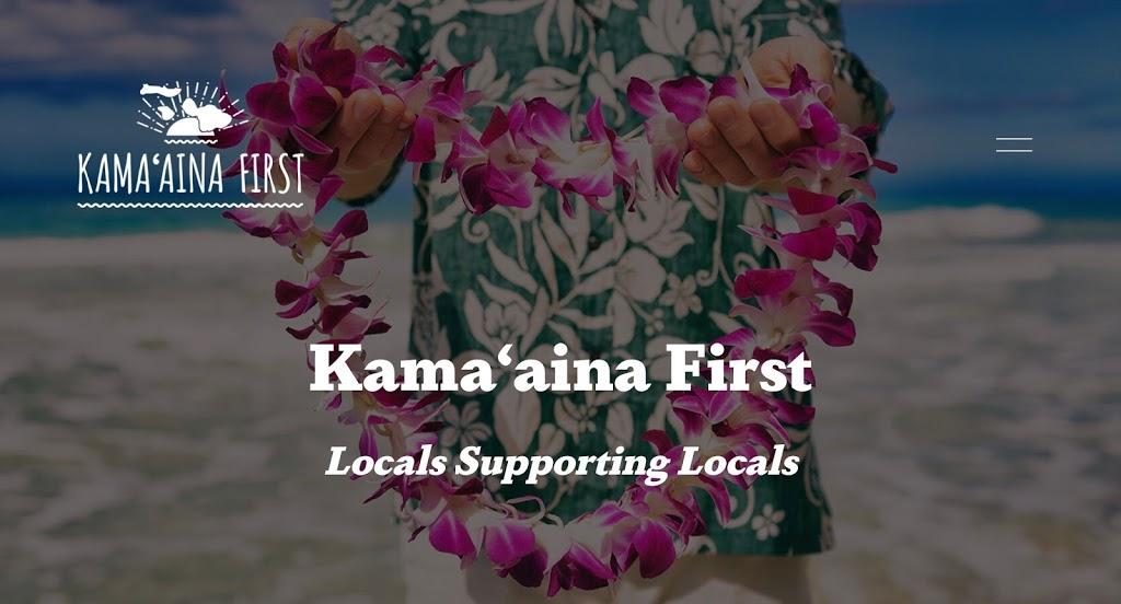 Kama'aina First Economy.
