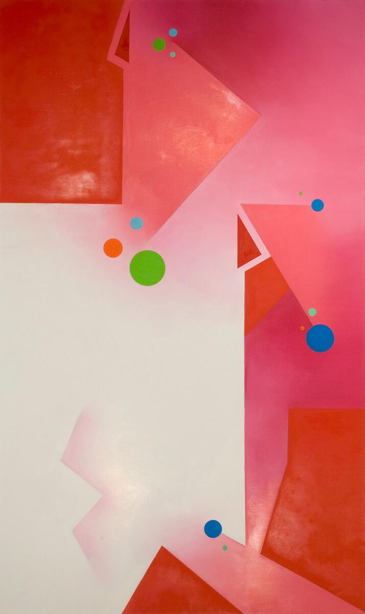 Cadmium Red Light - 60x36, oil on canvas