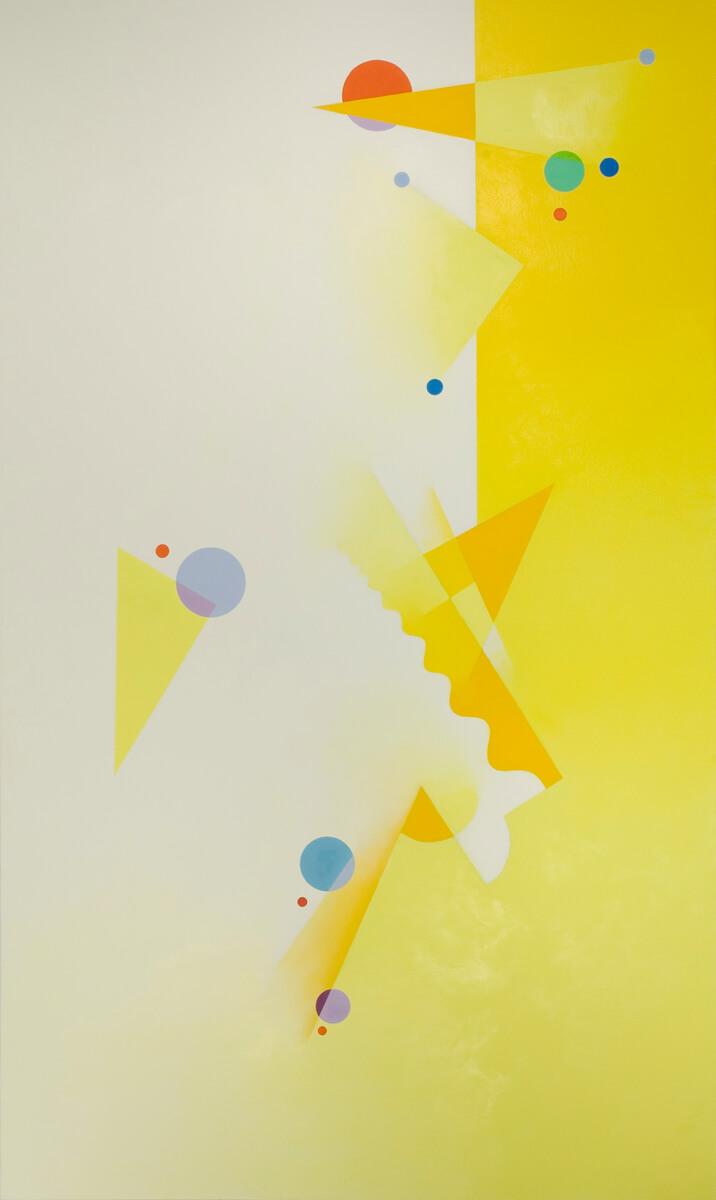 Cadmium Lemon Yellow - 60x36, oil on canvas