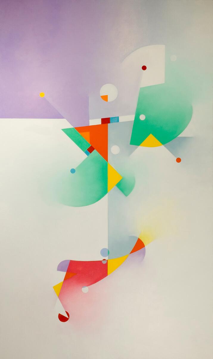 Flake White - 60x36, oil on canvas
